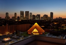 Beverly Wilshire, A Four Seasons Hotel launches first Urban Glamping experience