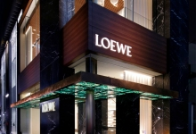 Loewe unveils in Tokyo its new retail store concept