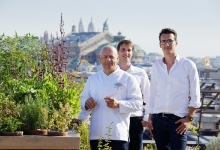 Mandarin Oriental, Paris unveils rooftop vegetable garden