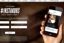 Michael Kors launches #InstaKors, a unique social shopping feature