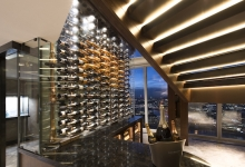 Shangri-La at The Shard, London unveils new Sky Lounge and Wine Wall