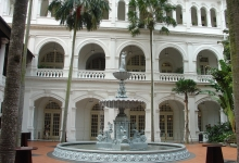 Raffles Hotel Singapore- the landmark destination in Asia´s gateway city