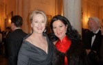 Angela Gheorghiu with Meryl Streep