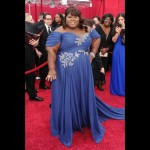 Gabourey Sidibe at the Oscars