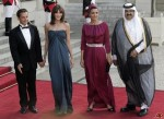 Sheika Moza Bint Nasser Al Misnad on state visit to France