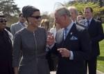 Sheikha Mozah with Prince Charles