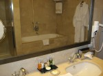Epoque Hotel, Bucharest - bathroom