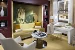 Mandarin Oriental Paris, Deluxe Suite - design image ''Noir et Blanche'' by Man Ray