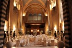 Wedding set up in Church of Conventino building at Four Seasons Hotel Firenze