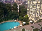 View of swimming pool from 5th floor, Taj Mahal Palace, Mumbai