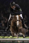 Eric Lamaze on Coriana Van Klapscheut in the Rolex Top Ten, at the GUCCI MASTERS