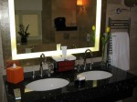 Lazar Suite - full marble bathroom, Mandarin Oriental Prague