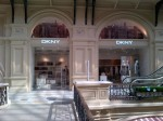 DKNY new store at GUM, Moscow