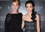 Frida Giannini and Li Bing Bing at Gucci event in Shanghai (Getty)