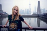 Frida Giannini in Shangai (photo Andrew Juhl)