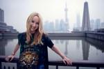 Frida Giannini in Shangai (photo Andrew Juhl)