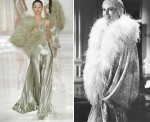 Jazz Age - Ralph Lauren, Spring Summer 2012 and Mia Farrow playing Daisy Buchanan in The Great Gatsby, 1974