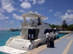 Transfer by speed boat to Four Seasons Kuda Huraa