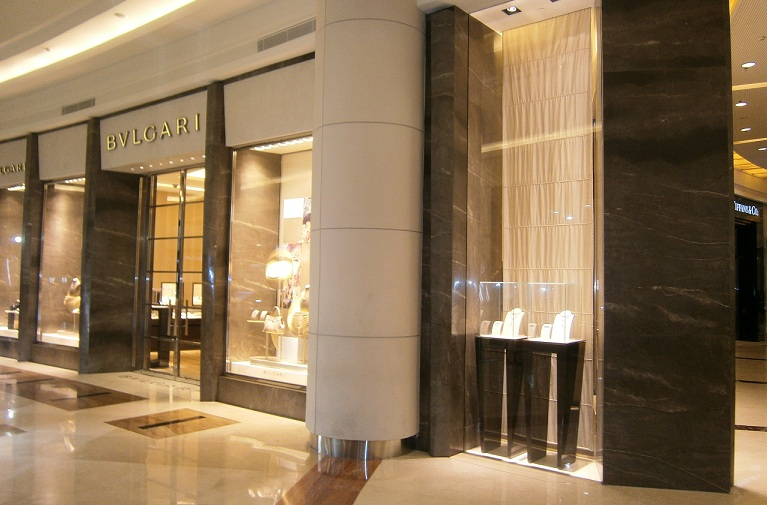 Bvlgari Store At Pacific Place Mall Jakarta Indonesia