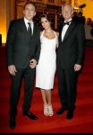Nicholas Cage, Jessica Alba and Montblanc CEO Lutz Bethge in Beijing