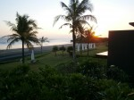 Alila Villas Soori, Bali - beach view at sunrise