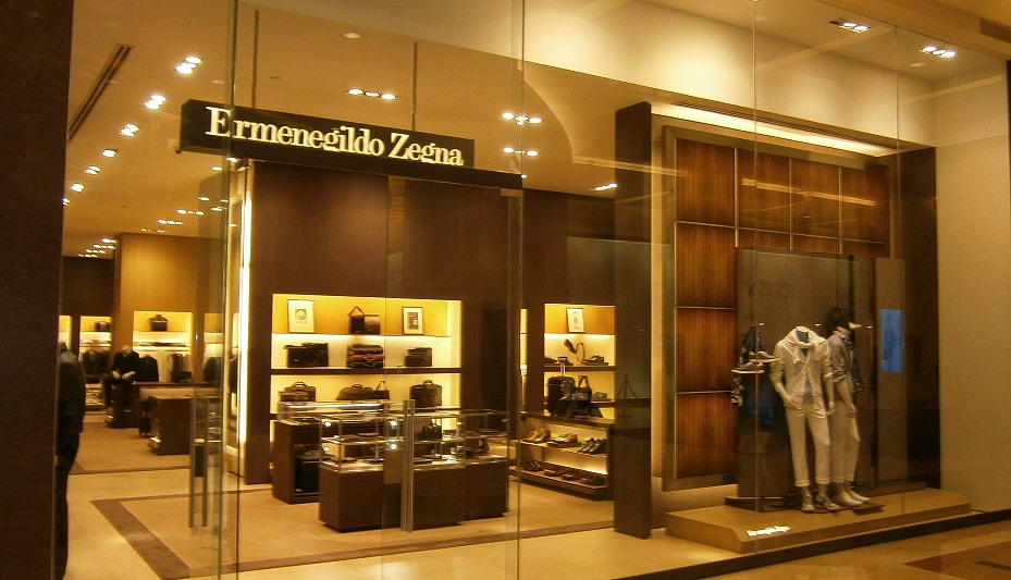 Ermenegildo Zegna Store At Pacific Place Mall Jakarta Indonesia