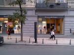 Ermenegildo Zegna store on Rustaveli Avenue in Tbilisi (Georgia)