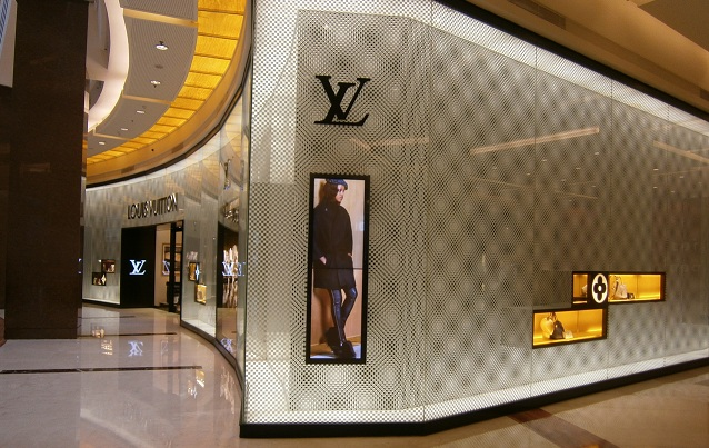 Louis Vuitton At Pacific Place Mall Jakarta Indonesia