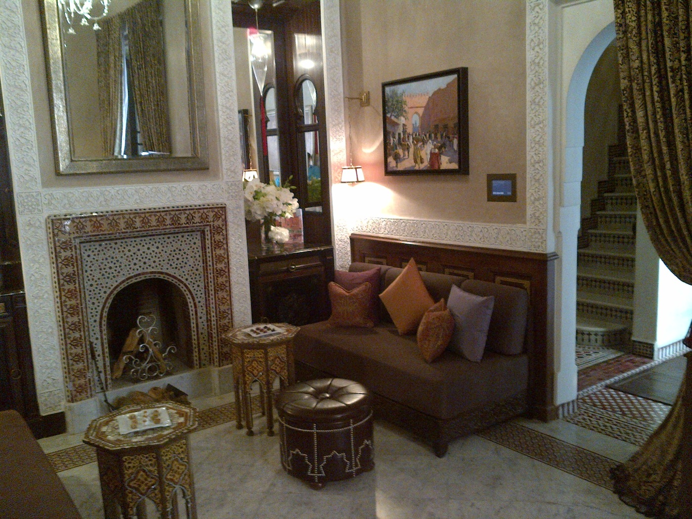 The Royal Mansour Hotel Living