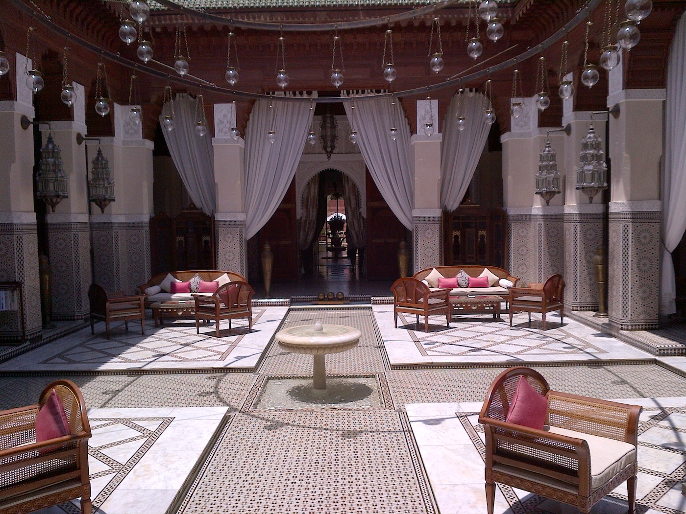 The Royal Mansour Hotel The