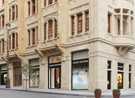 Louis Vuitton flagship, Beirut