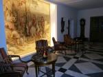 Tapestry in lobby - Fairmont Vier Jahrszeiten, Hamburg