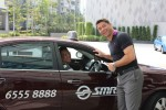 Taxi Awareness Day with GM Stephane Fabregoul at W Singapore Sentosa Cove (Facebook page)