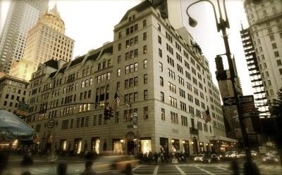 Bergdorf Goodman luxury department store, New York