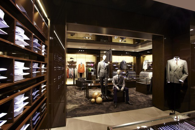 hugo boss flagship store cpp luxury. Black Bedroom Furniture Sets. Home Design Ideas
