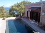 Luxury seaview cottage with private heated pool