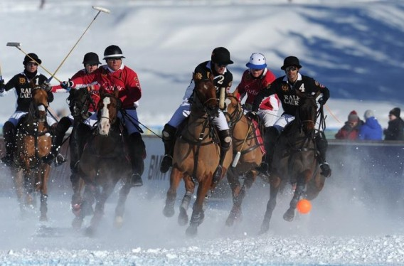 St Moritz Snow Polo World Cup 2013