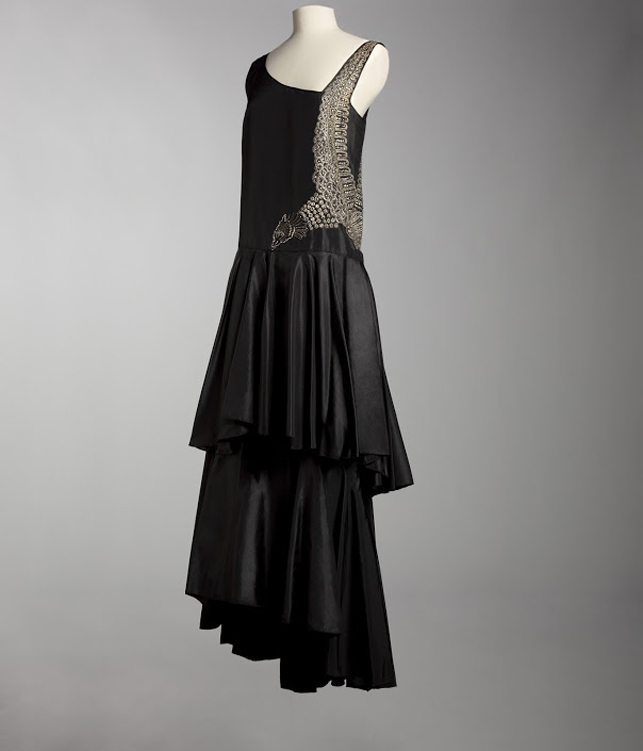 Evening dress, 1929. Collection ©Musée Galliera, City of Paris, 2013
