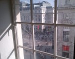 View of Piccadilly and Regent Street from Junior Suite