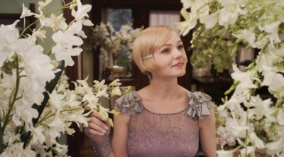 Carrey Mulligan wearing a costume by Miuccia Prada in The Great Gatsby movie adaptation
