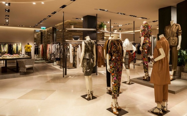max mara opens re designed flagship store in munich. Black Bedroom Furniture Sets. Home Design Ideas
