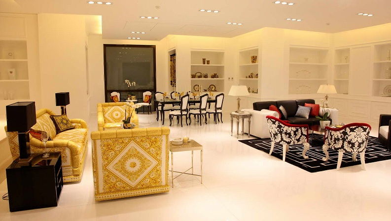 Versace Home Collection Store Beirut Lebanon Opened 2013