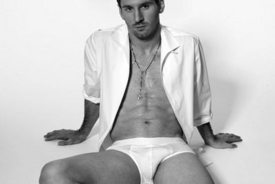 Leo Messi in Dolce Gabbana new underwear campaign