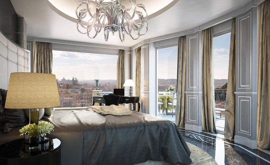 Roman penthouse suite baglioni suites at the regina baglioni rome