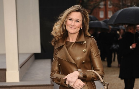 Angela Ahrendts, Burberry CEO, highest paid woman executive in the UK