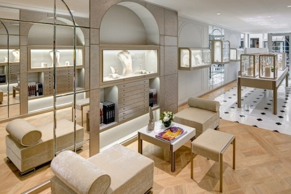 Boucheron newly redesigned flagship store in Paris