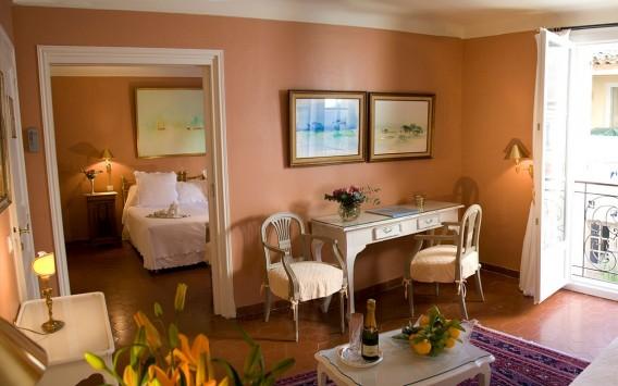 Brigitte Bardot Suite at La Ponche Hotel, Saint Tropez
