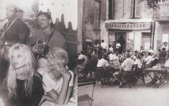 Brigitte Bardot at La Ponche Hotel in Saint Tropez 1960