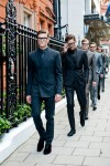 Dolce & Gabbana Men's Tailoring Fall 2014 presented open air London