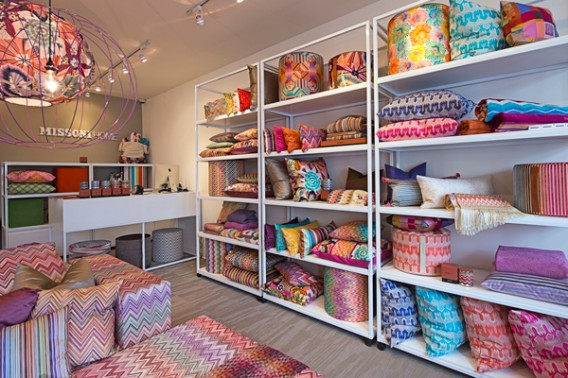 Missoni Home store in Southhampton, U.S.